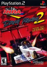 IHRA Drag Racing 2 Playstation 2 PS2  Complete CIB - $7.75