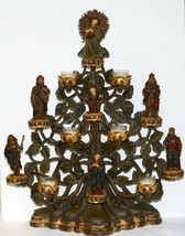 Department 56 * TREE OF LIFE NATIVITY CANDLE HOLDER * Retired, Rare - $257.39