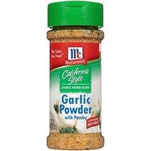 McCormickCalifornia Style Garlic Powder With Parsley (Salt Free Garlic P... - $8.17