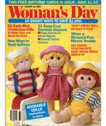 Erik Blegvad Cards Woman's Day Aug. 1985 Crochet Knitting Vagabond Dolls - $11.95
