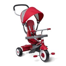4 in 1 Radio Flyer Rider & Stand Trike Bicycle Baby Child Stroller Tricy... - $98.67