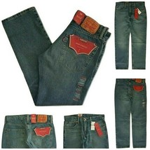 Levi Mens 502 Regular Taper Fit Warp Stretch Jean Size W30 x L30 RRP $59... - $24.99