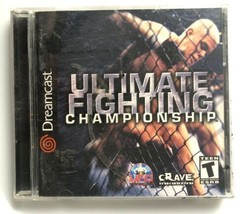 Ultimate Fighting Championship (Sega Dreamcast 2000) Complete in Case Ga... - $7.80