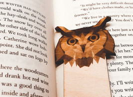 Engraved Owl Bookmark - $10.00