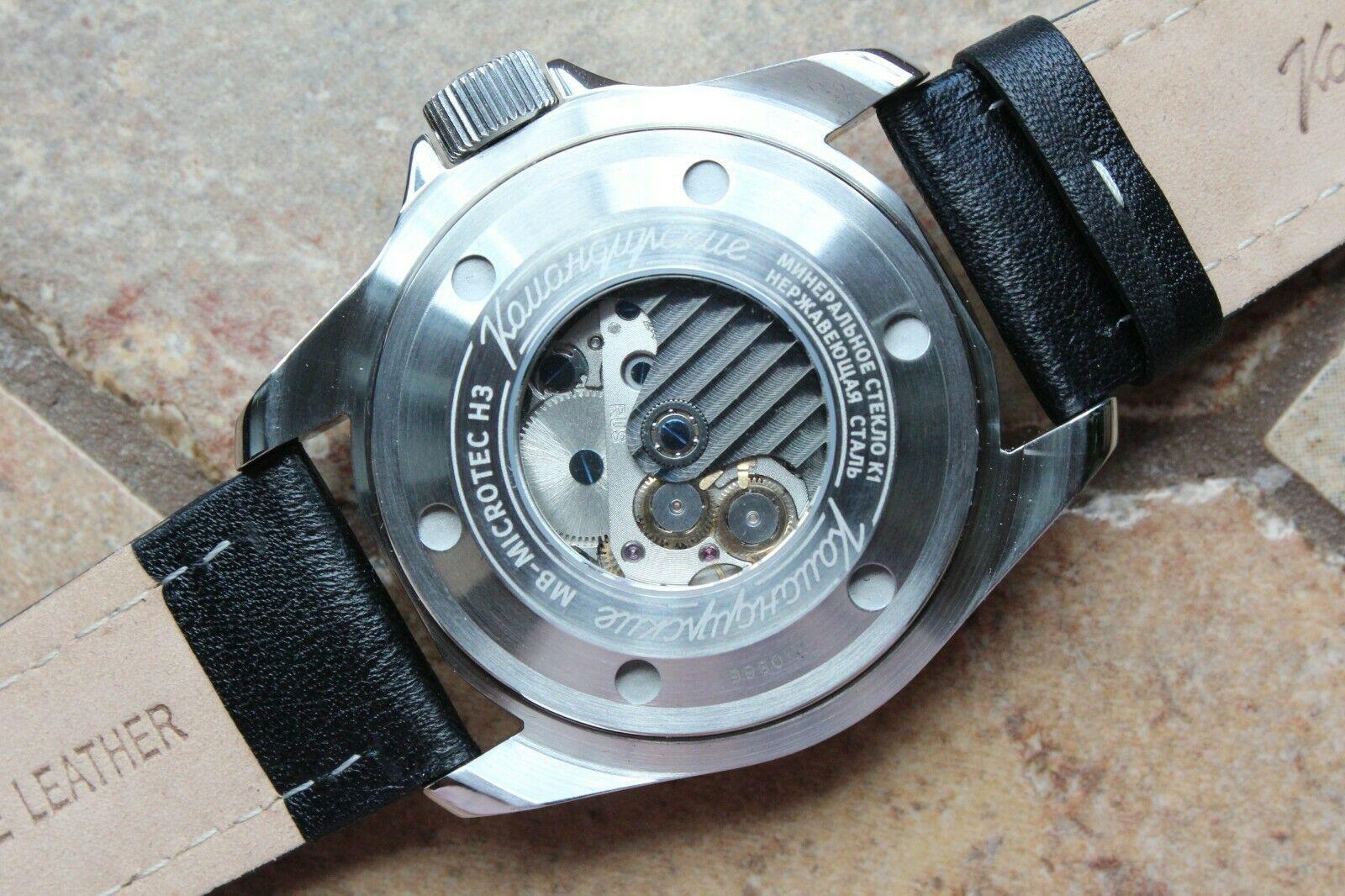 Vostok Komandirsky Russian Mechanical Automatic K-39 Military wristwatch 390775 image 7
