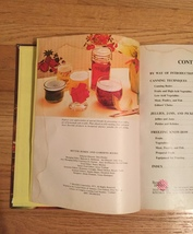 Vintage 1973 Better Homes and Gardens Home Canning Cookbook- hardcover image 3