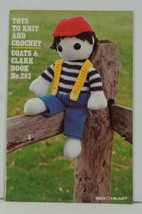 TOYS TO KNIT AND CROCHET Coats & Clark #283 from 1980 NEW - $7.99
