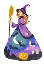 Custom And Unique Happy Halloween [ Bewitching Beauty ]Embroidered Iron ... - $25.73