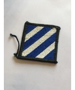 2 1/4 Inch Military Blue And White Sew On Patch used - $6.15