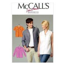 McCall Pattern Company M6932 Misses/Mens Shirts, Size XN - $14.21