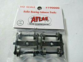Atlas # 190000 Roller Bearing Caboose Trucks 1 Pair  HO Scale image 3
