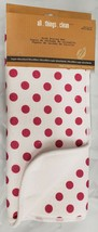 "Kitchen Microfiber Drying Mat (15"" x 19.5"") RED POLKA DOTS ON WHITE, MDC - $14.84"