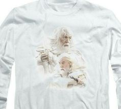 The Lord of the Rings Gandalf The White Wizard long sleeve t-shirt LOR3007 image 3