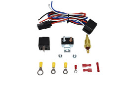 Electric Fan Relay W/ Thermostat Install Kit Hardware Kit 180°-200°
