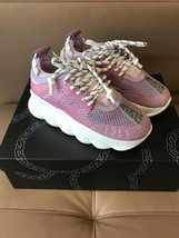 Versace $995 Chain Reaction Sneakers in Size 38--8 US.!! NIB.! - $539.55