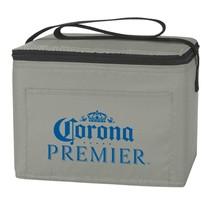 Corona Premier 6 Can Gray Cooler Bag Grey - $14.98