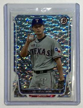 Limited To 1/1 Piece Yu Darvish 2014 Bowman White Ice Super-Fractor Refr... - $251.85