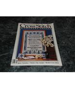 Cross Stitch & County Crafts Magazine January February 1986 Paper Hearts - $2.99