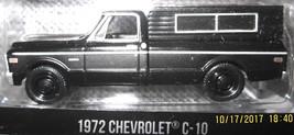 1:64 Greenlight Black Bandit 1972 Chevrolet C-10 Pickup - $9.95