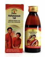 Mahanarayan Tail For Joint Pain Backache Massage Herbal Oil - 100ml - $28.40