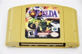 Nintendo N64 Game Zelda Majoras  Mask Video Game Cartridge USA Version N... - $34.60