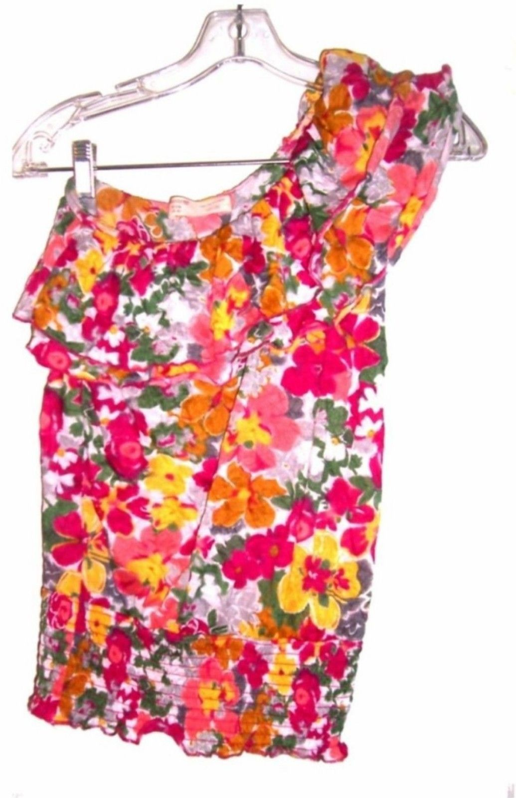 Sizes S - XL ~ No Boundaries NoBo Sleeveless Summer Tops in Blue, Pink & Yellow