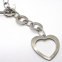 925 Silver Necklace Chain Oval, circles and Heart, Pendants, Satin image 3