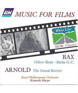 Music for Films: Malcolm Arnold and Arnold Bax [Audio CD] Malcolm Arnold... - $11.99