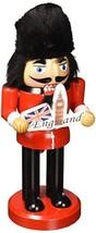 "Santa's Workshop England Nutcracker 10"" Tall Red/Black - $57.70"