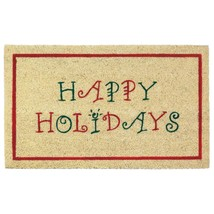 Door Mats, Decorative Christmas Outdoor Welcome Mat Door - Coir And Pvc - $35.99