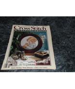 Cross Stitch & County Crafts Magazine May June 1989 Call a Friend - $1.99