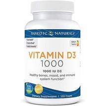 Nordic Naturals Vitamin D3 25 mcg 1000 IU Daily Dosage Support Bone Heal... - $28.50