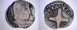 Fantasy - Roman Imperial Constantine / Ancient Judaea Coin - Not Genuine - $3.99