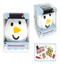 2  CHRISTMAS PASS THE PARCEL SNOWMAN PARTY GAME GIFTS HATS FORFEIT GAME ... - £14.04 GBP
