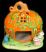 PARTYLITE Halloween Pumpkin Patch Tealight House #P7303 with original box - $27.11