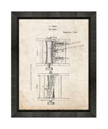 Corn Sheller Patent Print Old Look with Beveled Wood Frame - $24.95 - $109.95