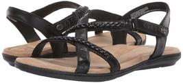 Womens Earth Origins Belle Bentley Sandals - Black, 7.5 Wide US - $59.99