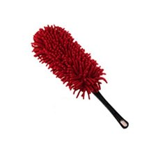 PANDA SUPERSTORE Cleaning Supplies Chenille Yarn Car Duster Dust Brush,RED