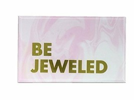 Celebrate Shop Be Jeweled or Hello Darling Glass Girls Jewelry Box 8x5x3... - $26.45 CAD