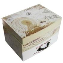 Ferris Wheel Clockwork Musical Box Decorative Jewelry Storage Box - $32.68