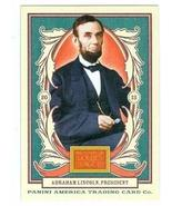 Abraham Lincoln 2013 Panini Golden Age #1 (President of the United States) - $4.00
