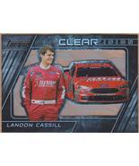 2016 Panini Torque Clear Vision #23 Landon Cassill - $3.00