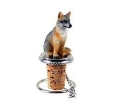 Gray Fox Bottle Stopper - $241,65 MXN