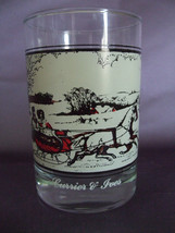 "Arby's Currier & Ives ""The Road in Winter"" Collectors Series Glass - $5.95"