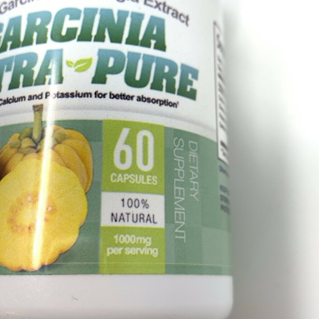 2 - Garcinia Cambogia Ultra Pure 100% Garcinia Cambodia Extract Dietary NEW image 7