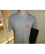 Vtg 80's Soffee Gray Rayon Tri-BLEND 44-43-13 Sewn FBI Academy T-shirt F... - $29.69