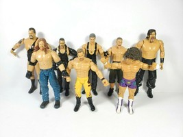 WWE Action Figures Assorted Lot of 8 Modern Jakks 2005 Big Show Undertak... - $55.00