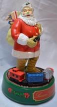 "1993 Ertl Coca Cola Santa Claus Die Cast Metal Mechanical Bank 8 3/4"" - $22.80"