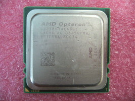 QTY 1x AMD Opteron 2386 2.8 GHz Quad-Core (OS2386YAL4DGI) CPU Socket - $50.00