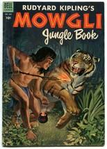 Rudyard Kipling Mowgli Jungle Book 487 VGFN 5.0 Dell 1953 Golden Age  - $36.62